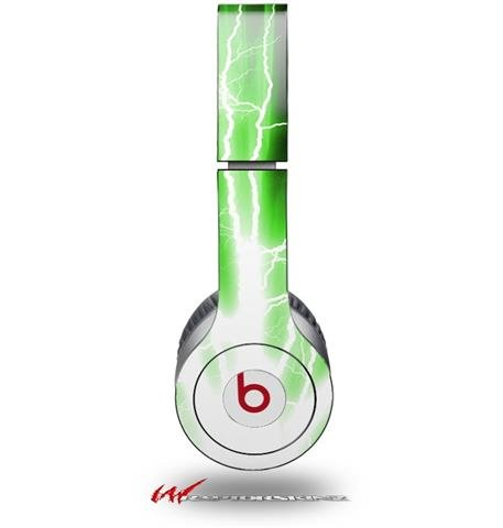 Lightning Green Decal Style Skin (Fits Genuine Beats Solo Hd Headphones - Headphones Not Included)