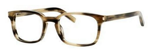 Yves Saint Laurent Yves Saint Laurent Sl 7 Eyeglasses-0WT3 Dark Horn-51mm
