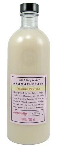 Bath & Body Works Aromatherapy Original Jasmine Vanilla Sensuality Serene Foam Bath 10 fl oz