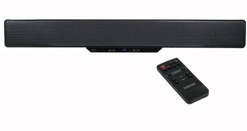 KNG TV 2.1 Soundbar - 80 watt (UK) Thin & Powerful AV Soundbar Surround Subwoofer Speaker System is ideal for... Black Friday & Cyber Monday 2014