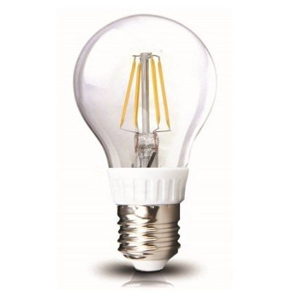 Wootop-Led Filament Bulb Nostalgic Edison Style A19 4W To Replace 40W Incandescent Bulb Soft White Tungstenb27K-A19/4W/1