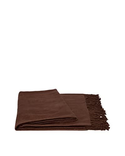 a & R Cashmere Rayon from Bamboo Throw, Cappuccino