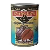 Evanger's Super Premium For Dogs Hunk of Beef, 12 Pack