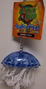 Cheap Lucky Bird Toys Jellyfish 3.5in Small Bird Toy (B000JLC6ZW)