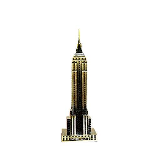vollter-il-mondo-famoso-modello-limite-metallo-del-modello-di-empire-state-building