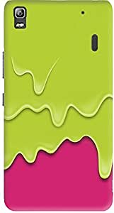 Meetarts Lenovoa _D865 Mobile Case for Lenovo A 7000 (Multicolor)
