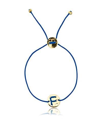 Feelo  Pulsera Feelo «F» Azul