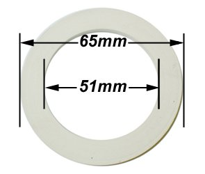 3 and 4 Cup Espresso Coffeemaker Replacement Gasket