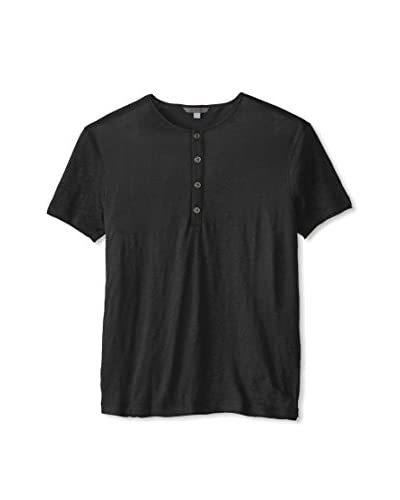 John Varvatos Collection Men's Short Sleeve Henley