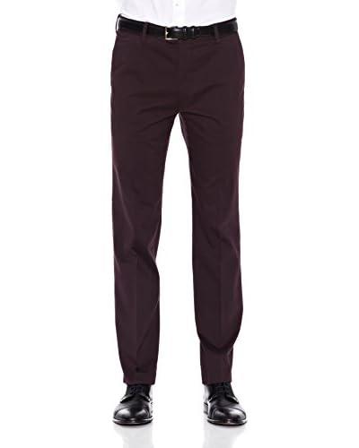 Dockers Pantalone San Francisco Slim Stretch Sateen [Marrone]