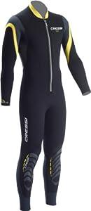 Buy Cressi Bahia 2.5mm Mens Front Zip Premium Neoprene Full Wetsuit by Cressi-Sub