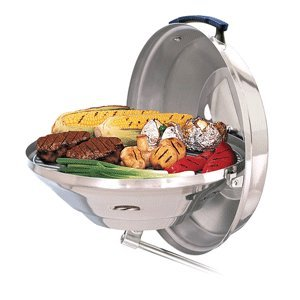 """Magma Marine Kettle Charcoal Grill - Party Size 17"""" by Magma"""