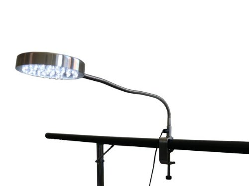 LED Clip Lamp, Flexible with Gooseneck, Kapet 10053