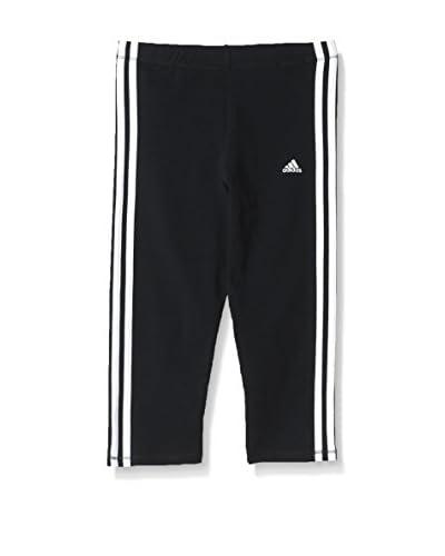 adidas Sweatpants Essentials 3 Streifen Tights schwarz/weiß