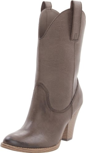 Madden Girl Women's Snappiee Boot,Brown Paris,6.5 M US