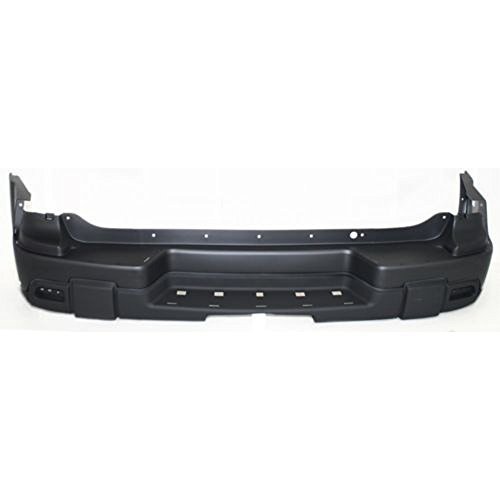 OE Replacement Chevrolet Trailblazer Rear Bumper Cover (Partslink Number GM1100663) (Rear Bumper 2003 Trailblazer compare prices)