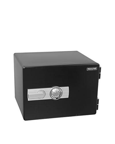 Honeywell 1.01 Cu. Ft. Water-Resistant Steel Fire & Security Safe, Black