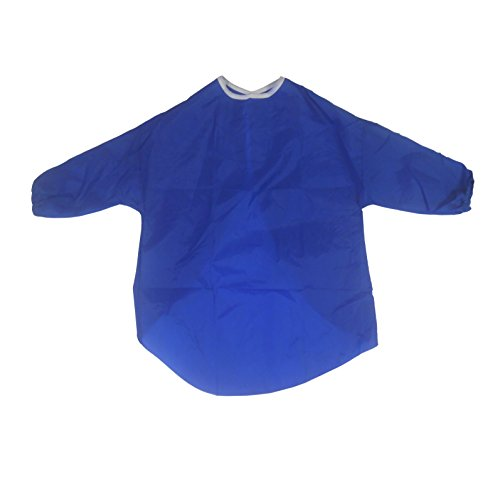 delantal-para-ninos-artes-y-manualidades-manga-medio-pintura-cocina-5-7-anos-azul