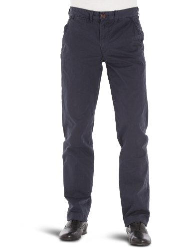 Tommy Hilfiger Sasha SP12 FT KIR Straight Men's Trousers Total Eclipse W30 INxL32 IN