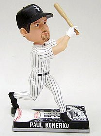 Chicago White Sox Paul Konerko Forever Collectibles On Field Bobble Head at Amazon.com