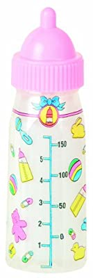 Magic Baby Bottles - 2 Bottles, 1 Milk and 1 Juice by Toysmith
