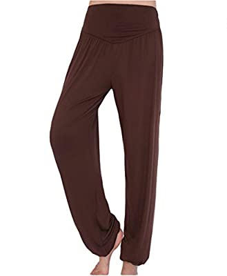 AveryDance Womens Modal Elastic Waistband Fitness Yoga Harem Pants