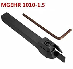 MGEHR 1010-1.5 10*10*100mm External Grooving Lathe Cutting Tool Holder by Abcstore99