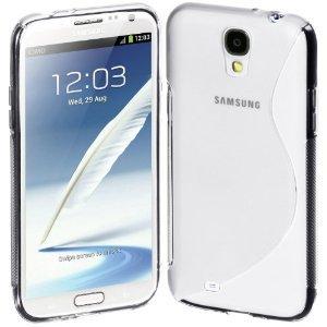 【Always】Samsung GALAXY S IV S4 docomo 専用 TPUケース ソフトケース クリア 半透明 液晶保護シート付き TPU case for ipod GALAXY S4