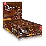 Quest Nutrition Protein Bars, Chocolate Brownie, (Pack of 12)