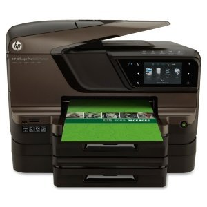 HP Officejet Pro 8600 N911N Inkjet Multifunction Printer - Color - Plain Paper Print - Desktop. OFFICEJET PRO 8600 PREMIUM E-AIO N911N CLR P/S/C/F ADF USB 2.0 INKMFP. Printer, Scanner, Copier, Fax - 35ppm Mono/35ppm Color Print - 20ppm Mono/16ppm Color Print (ISO) - 4800 x 1200dpi Print - 35cpm Mono/35cpm Color Copy - Touchscreen - 4800dpi Optical Scan - Automatic Duplex Print - 250 sheets Input - Ethernet - Wi-Fi - USB