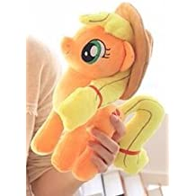 Super Cute 1pc 30cm Pony Doll Cartoon Horse Plush Toy (orange)