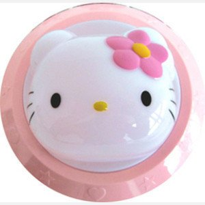 Hello Kitty Head Shaped Desk Table Lamp Light Pink from Hello Kitty