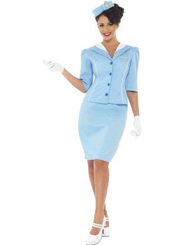 smiffys-22117-costume-da-hostess-da-donna-taglia-40-42