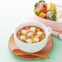 アマノフーズ フリーズドライ 化学調味料無添加 ふんわり 鶏だんごスープ 玉子と野菜 やさしいしょうゆ味 13.5gX60袋