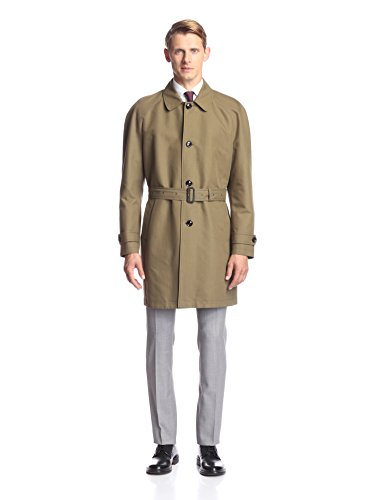 Hardy Amies Men's Belted Trench
