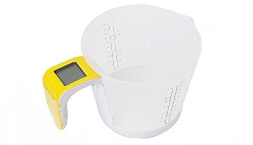 TCM tchibo 2 en 1 verre doseur balance numérique, capacité max. : 1 l capacité max.3 kg & emballage d'origine