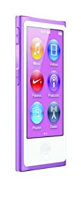 Apple iPod nano 16GB 7th Generation - Purple  (Latest Model - Launched Sept 2012)