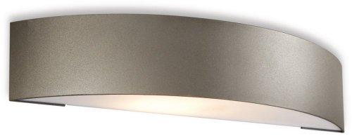 Philips Philips 17130\/93\/46 27-Watt Mygarden Wall Light (Anthracite And Aluminium) (Grey)
