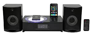 Sylvania SIP1079 iPhone/iPod CD Micro System with AM/FM Radio