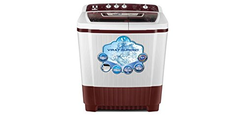 Videocon WM VS80P21-DMK 8 Kg Semi Automatic Washing Machine