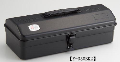 TOYO スチール製 山型工具箱 Y-350BK2