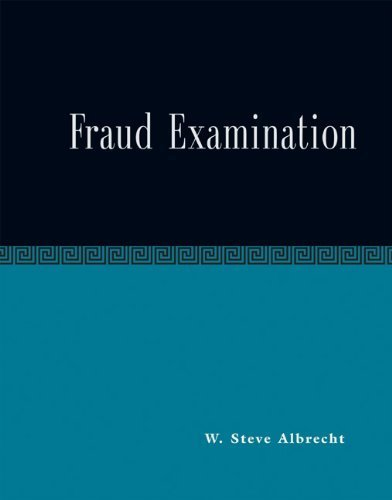 Fraud Examination 1st Edition by Albrecht, W. Steve; Albrecht, Chad O. published by South-Western College Pub Hardcover