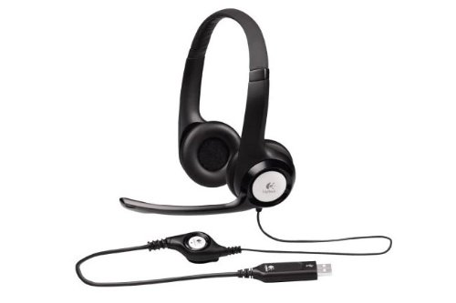 Brand New Logitech H390 Usb Headset With Microphone