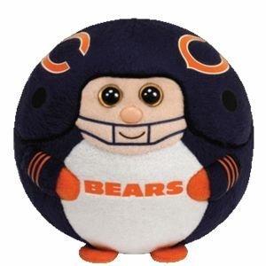 "Ty Beanie Ballz 13"" Chicago Bears Plush"