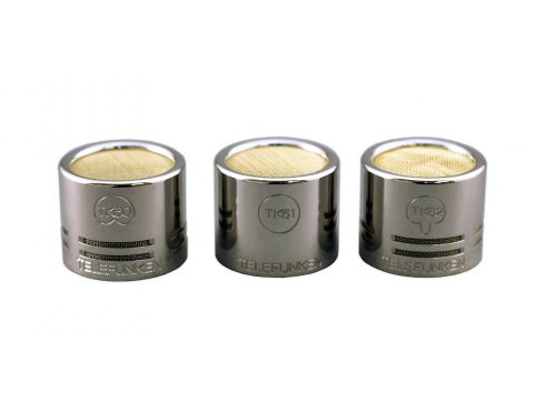 Telefunken Capsule Set | Tk60, Tk61, Tk 62 Capsule Set For M60 And M260 Series
