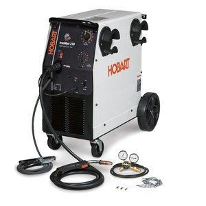 Hobart 500536 Ironman 230 250 Amp MIG Welder With Wheel Kit & Cylinder Rack from Hobart
