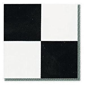 Vinyl Stick On Tiles Villa Nova Black And White Self Adhesive Flooring