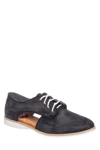Rollie Nation Derby Side Cut Oxford Flat Shoe
