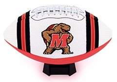 Maryland Terrapins Full Size Jersey Football by Hall+of+Fame+Memorabilia