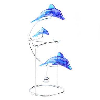 Dolphin Balance Mobile Desk Decoration front-906215